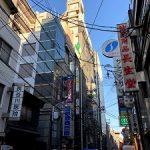 心斎橋、八幡筋に面する1階飲食店居抜き18坪。